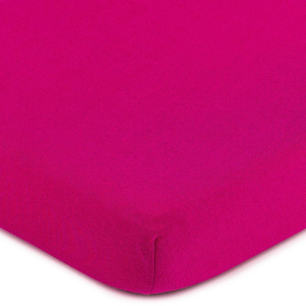 4Home 4Home jersey prestieradlo ružová, 140 x 200 cm