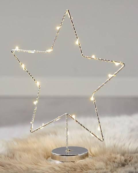 Strieborná lampa Möbelix