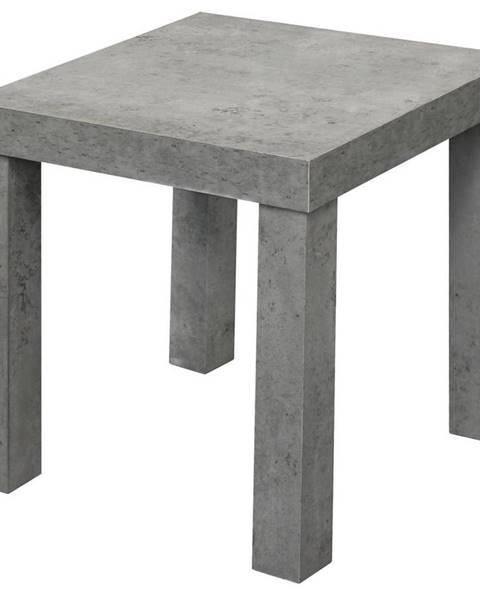 Sivý stôl Möbelix