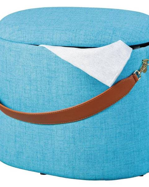 Modrá taburetka Möbelix