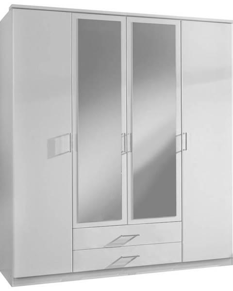 Biela skriňa Möbelix