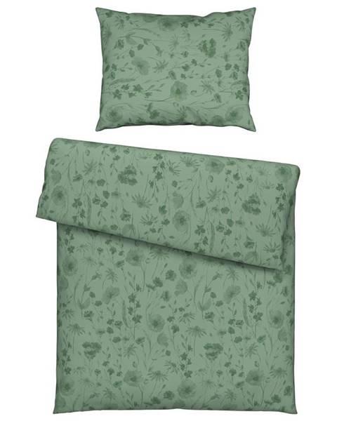 Zelená bielizeň Möbelix
