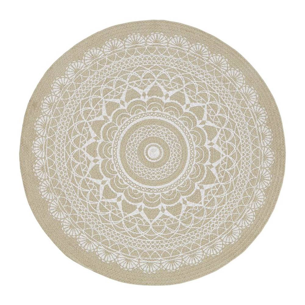 Möbelix Hladko Tkaný koberec Mila, 100cm, svetlohnedá