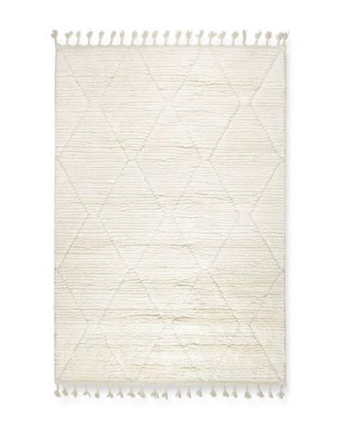 Biely koberec Möbelix