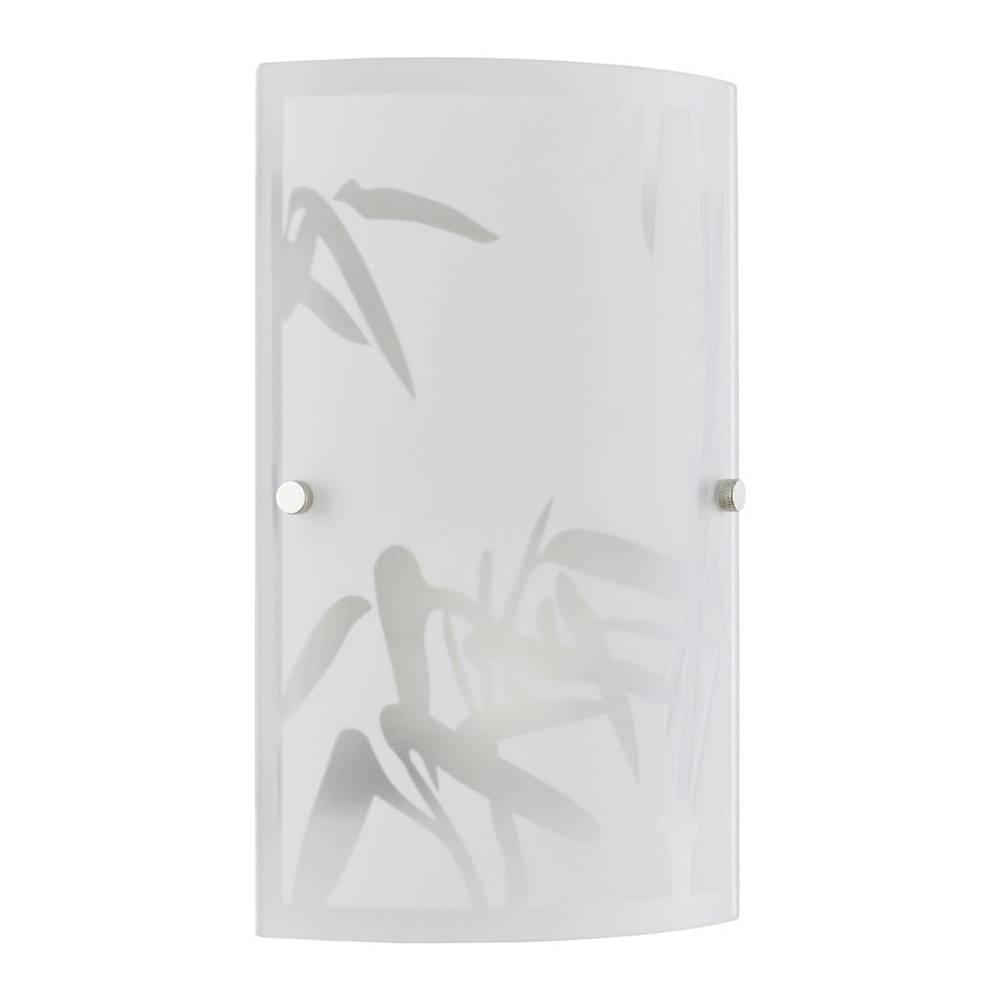 Möbelix Nástenná Lampa Square 15,2/25,5cm, 2x40 Watt