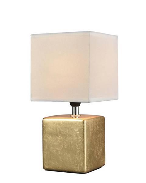Zlatá stolová lampa Möbelix