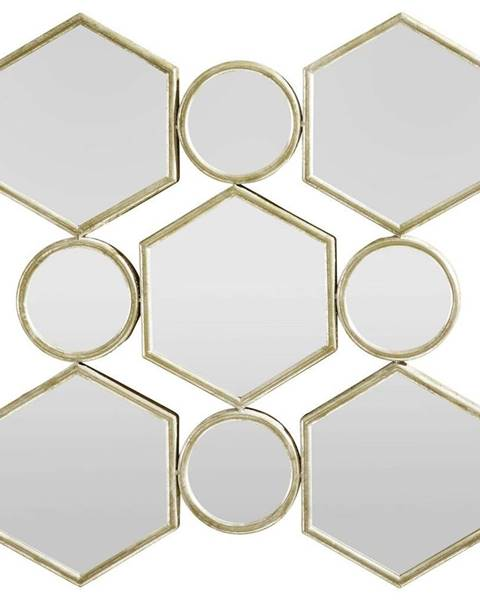 Zlaté zrkadlo Möbelix