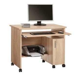 PC stôl JAMES dub sonoma