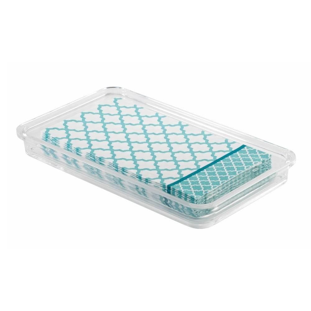 iDesign Zásobník na uteráky InterDesign Clarity, délka 25cm