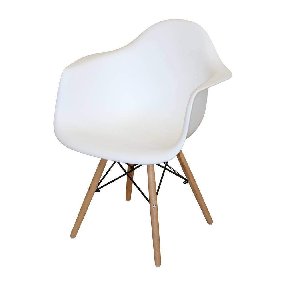 IDEA Nábytok Jedálenská stolička DUO biela