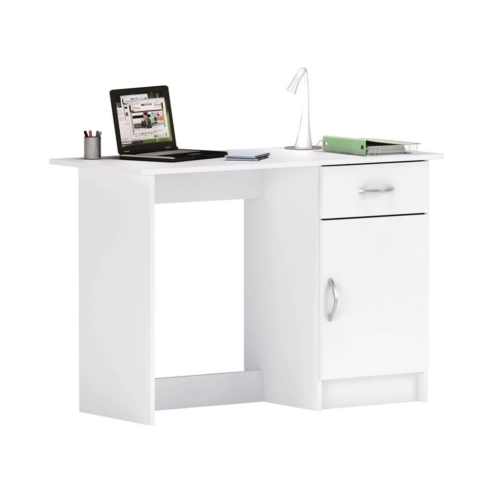 IDEA Nábytok Písací stôl OSIRIS biely