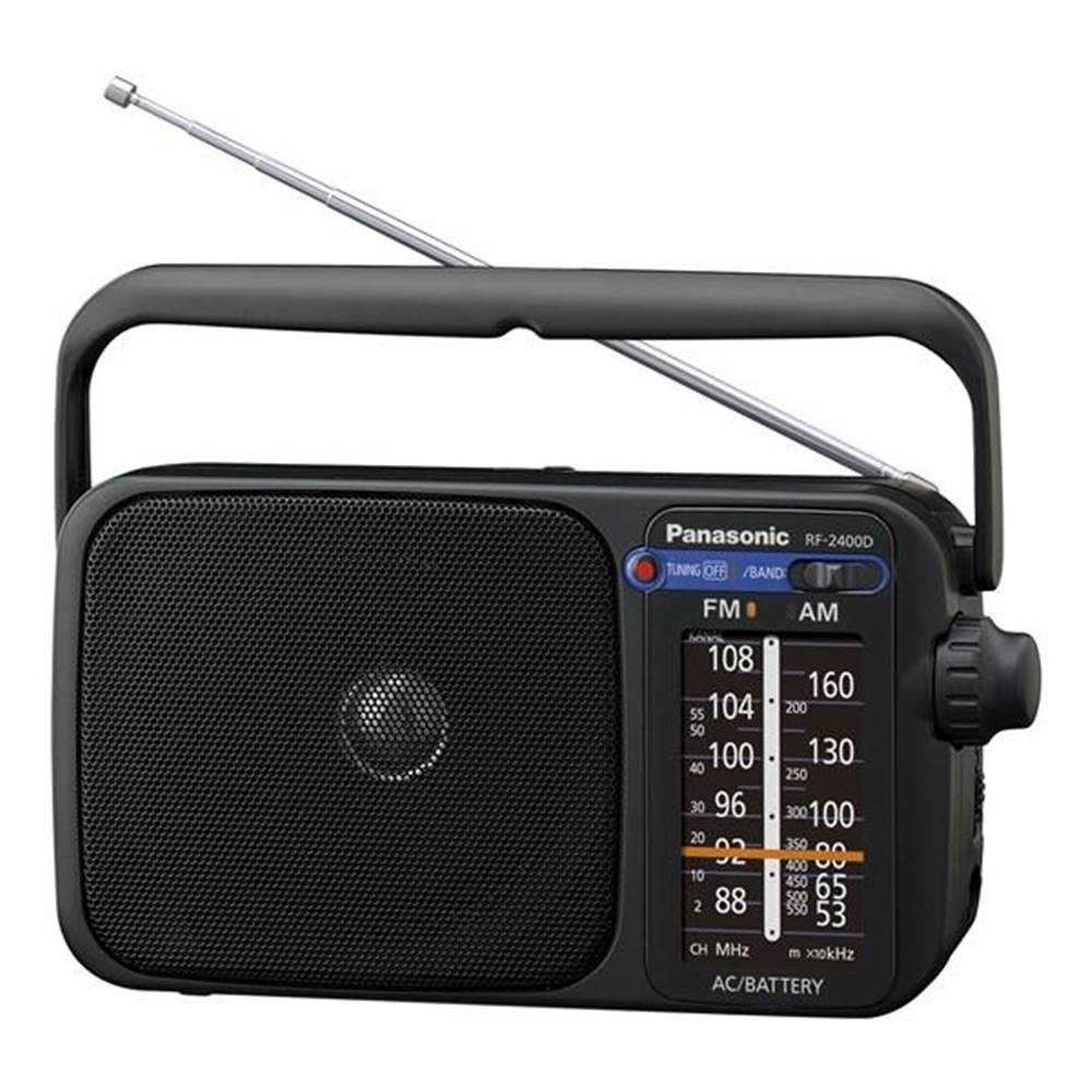 Panasonic Rádioprijímač Panasonic RF-2400DEG-K čierny