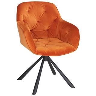 stolička Eileen Oranžová