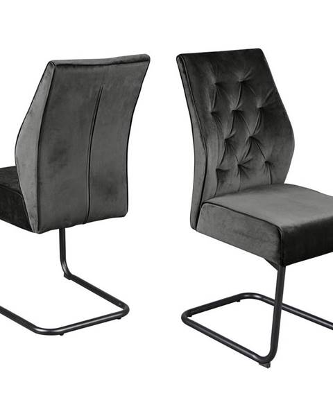 Sivá stolička Möbelix