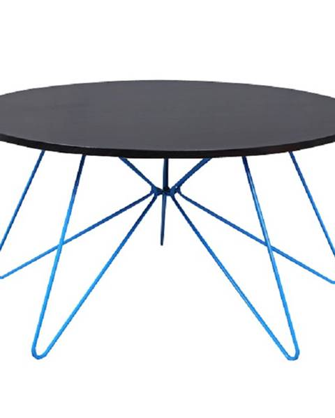 Modrý stôl Tempo Kondela