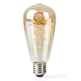 LED žiarovka Nedis Wi-Fi, 5.5W, 350lm, E27, teplá bílá/studená bílá
