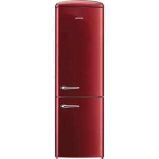Kombinácia chladničky s mrazničkou Gorenje Retro Ork192r vínov