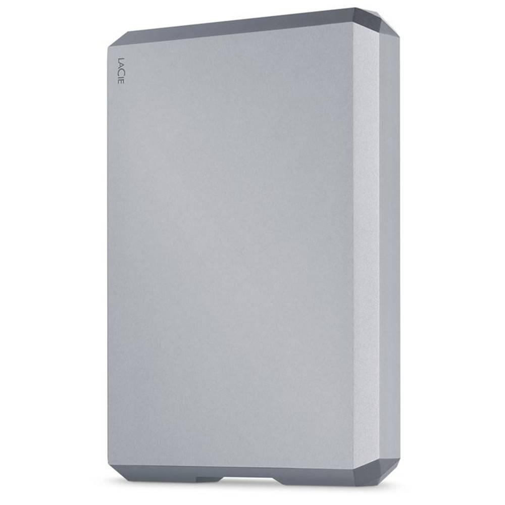 Lacie Externý pevný disk Lacie Mobile Drive 4TB, USB-C sivý
