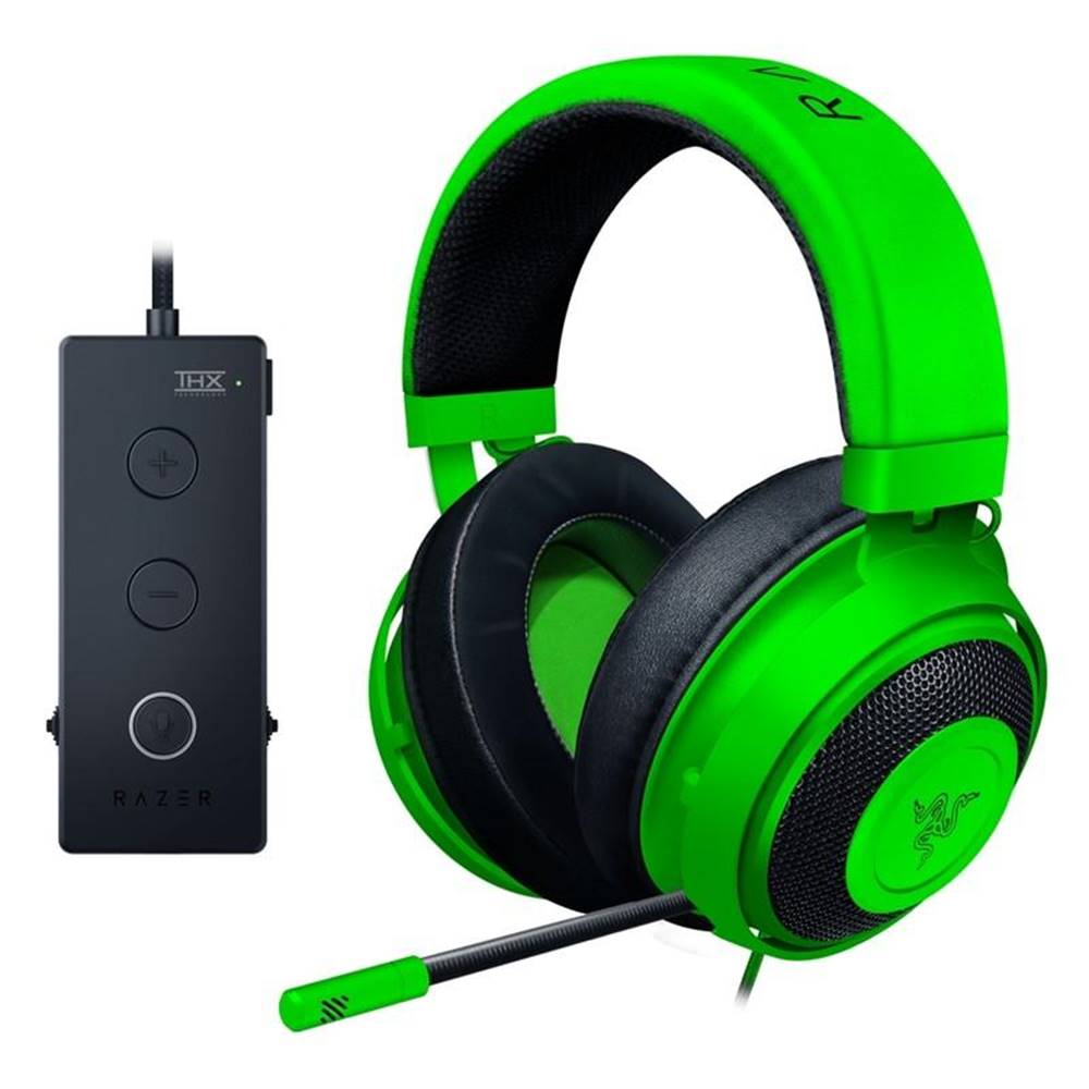 Razer Headset  Razer Kraken Tournament Edition čierny/zelený