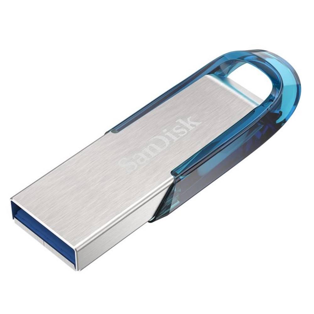 Sandisk USB flash disk Sandisk Ultra Flair 32GB strieborný/modrý