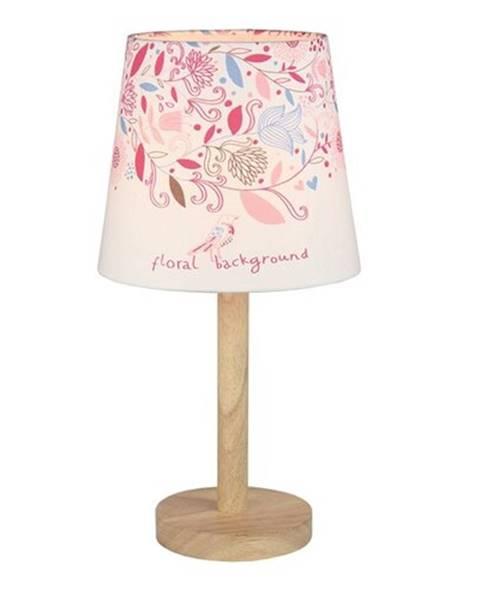 Ružová stolová lampa Orion