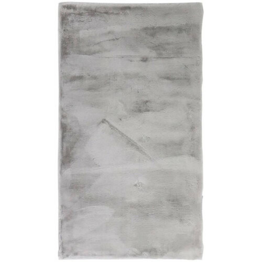 Karlsson Kúpeľňová predložka Rabbit New grey, 60 x 90 cm