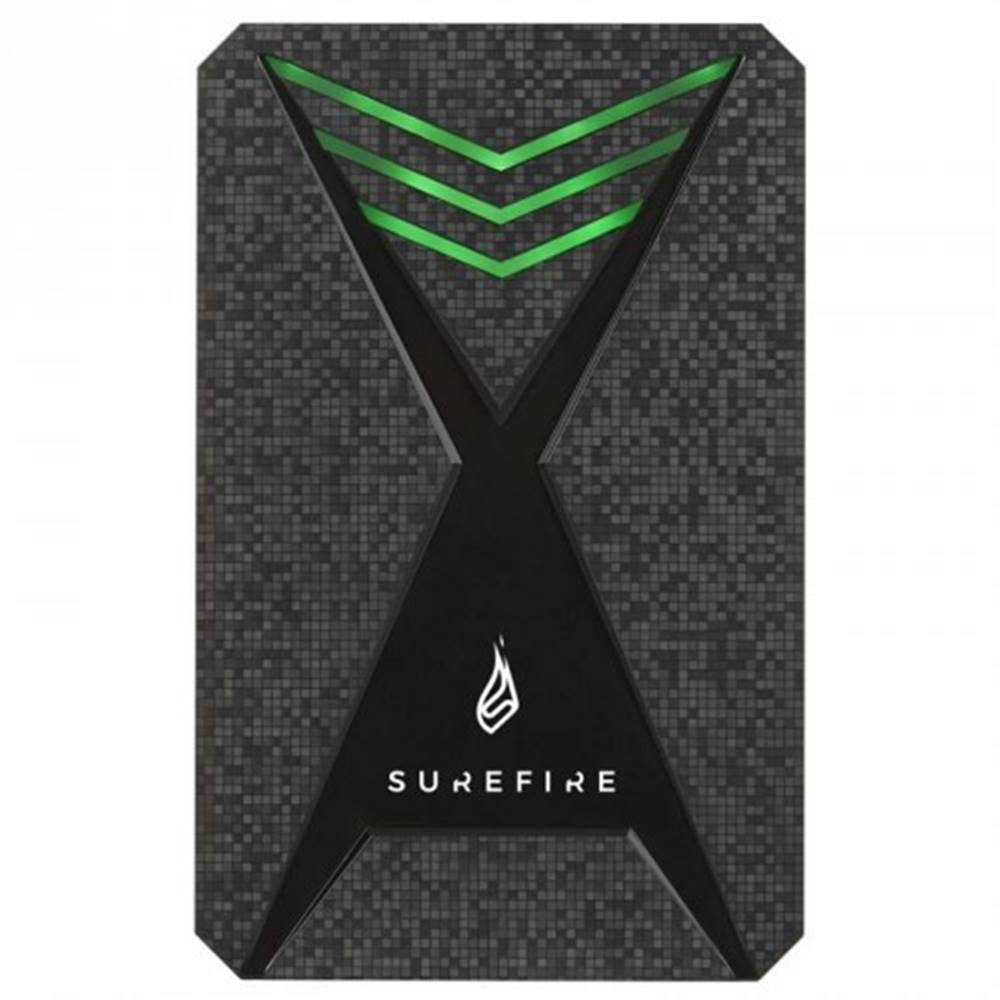 SureFire Externý SSD disk Surefire GX3 Gaming, USB 3.2 Gen 1, 1 TB,čierny