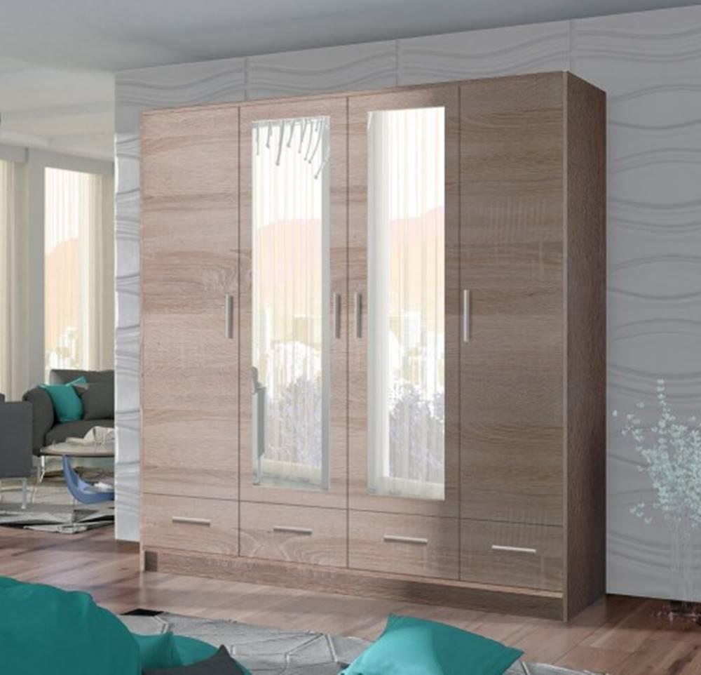 OKAY nábytok Skriňa Sofia 200/200/58