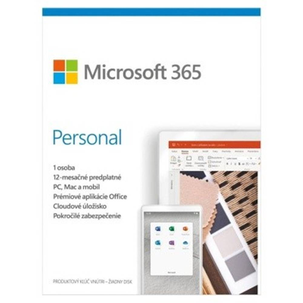 Microsoft Microsoft 365 Personal P6 Mac/Win, 1rok, SK
