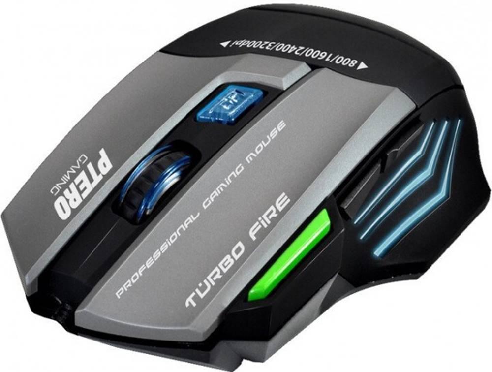 Evolveo Herná myš EVOLVEO Ptero GMX90, 3200dpi, RGB podsvietenie