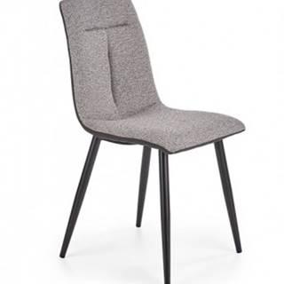 Jedálenská stolička Celina sivá
