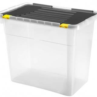 Úložný box s vekom Heidrun HDR658, 72l, plast