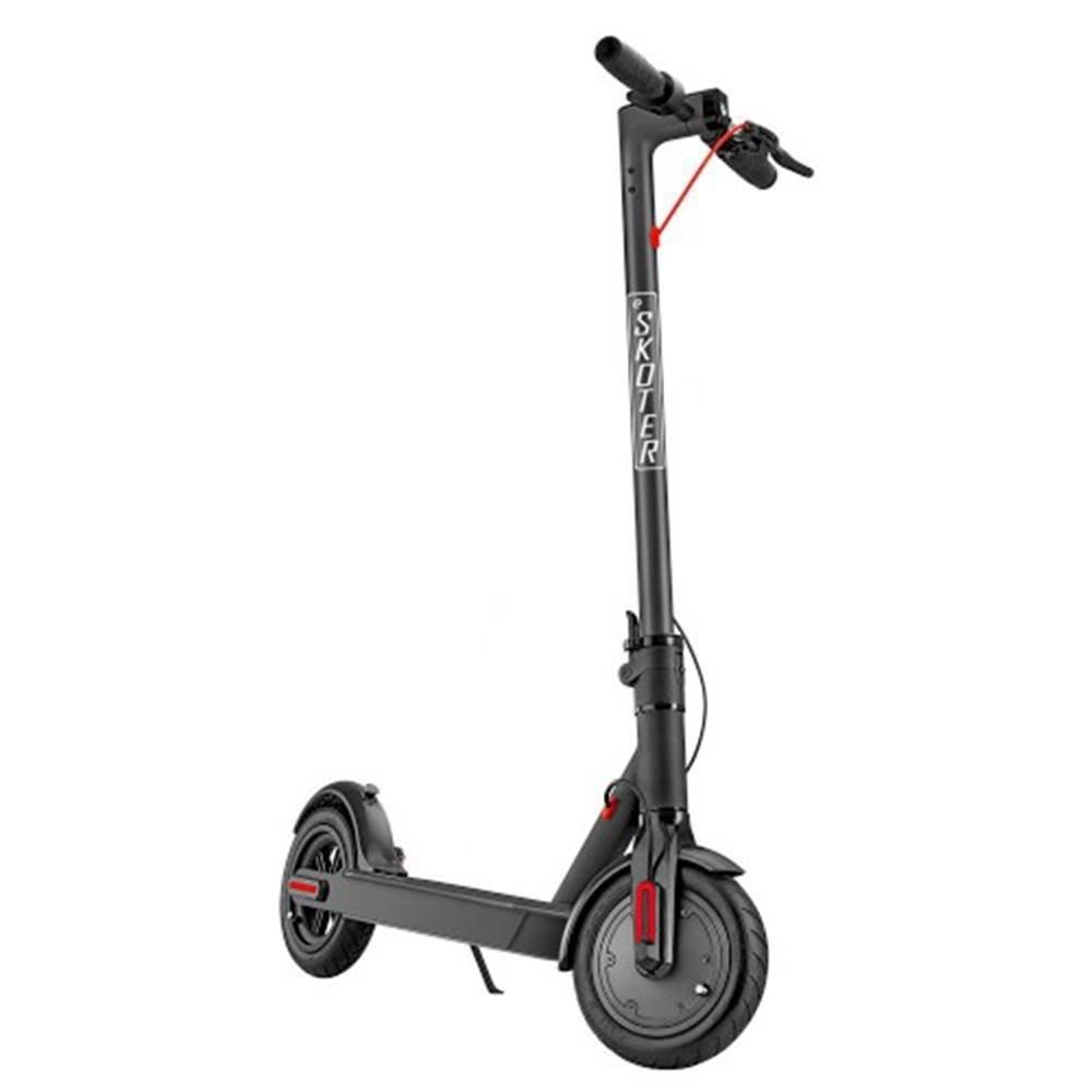 """eSkoter Elektrokolobežka eSkoter, 25km/h, až 25km, 8,5""""pneu, čierna"""