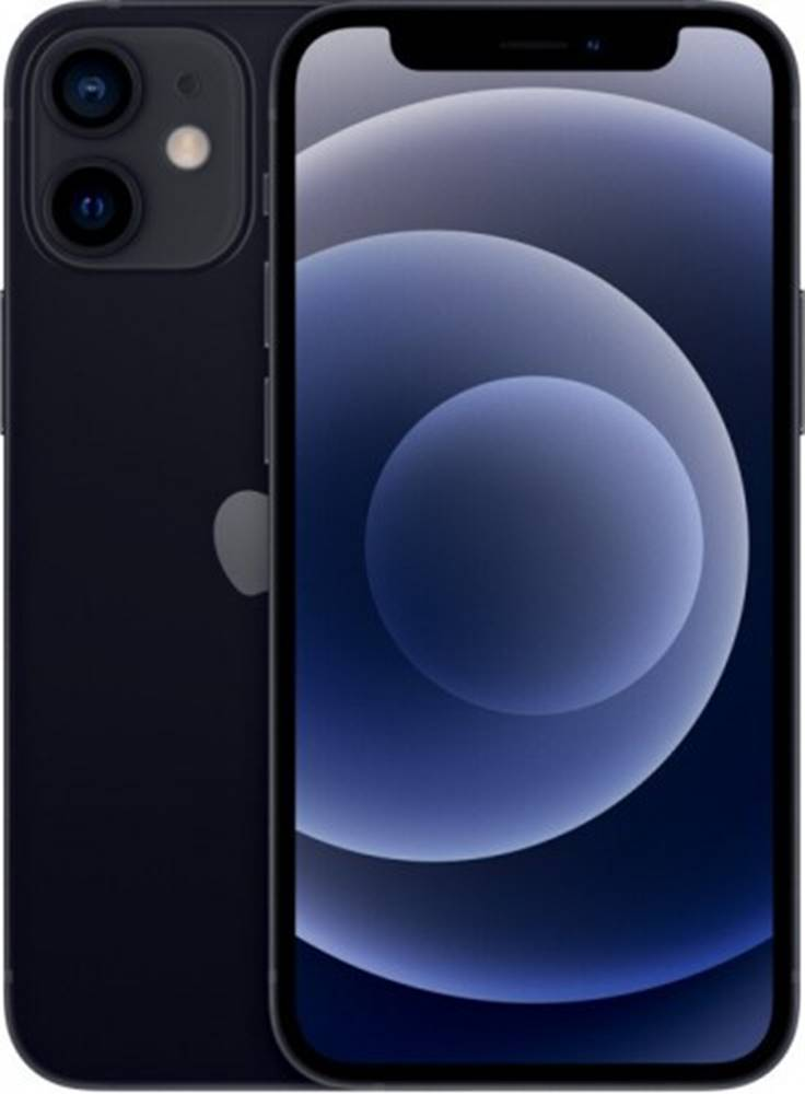 Apple Mobilný telefón Apple iPhone 12 mini 64GB, čierna