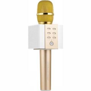 Prenosný reproduktor Technaxx Elegance, karaoke mikrofon zlat