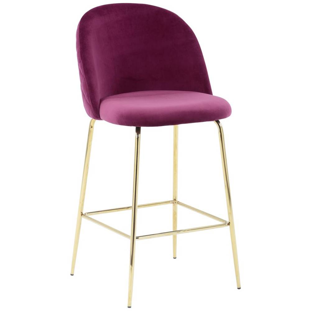 Möbelix Barová stolička Artdeco Bar Bordová