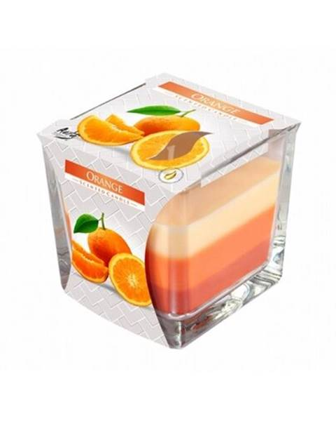 Oranžová sviečka Berlinger Haus