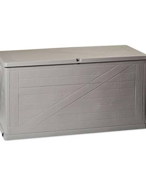 Sivý úložný box Banquet