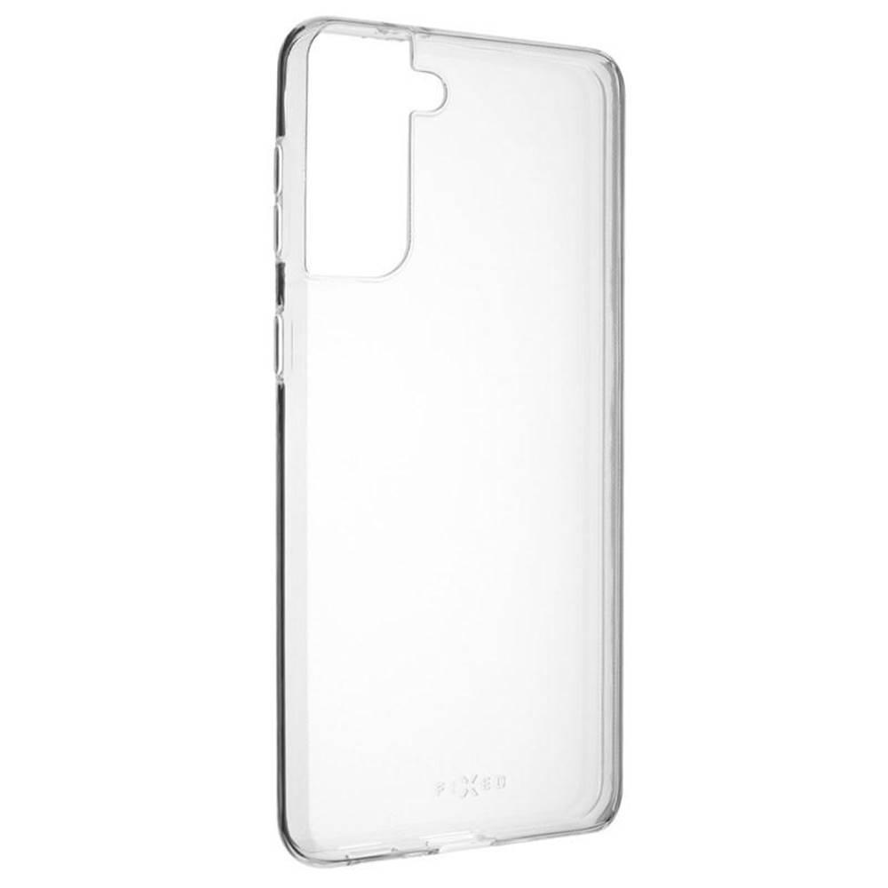 FIXED Kryt na mobil Fixed Skin na Samsung Galaxy S21+ 5G priehľadný