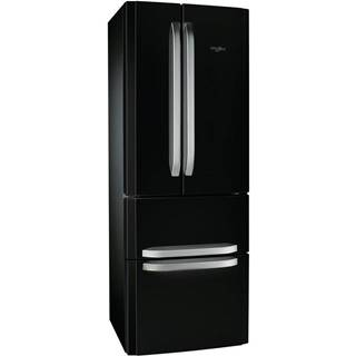 Americká chladnička Whirlpool W4D7 AAA B C čierna
