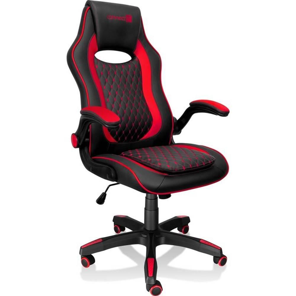 Connect IT Herná stolička Connect IT Matrix Pro čierna/červená