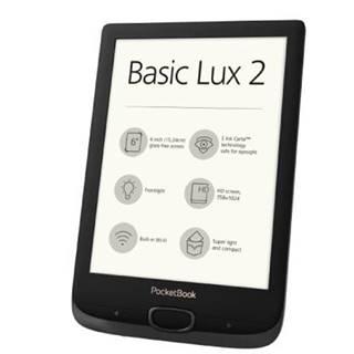 E-book POCKETBOOK 616 Basic Lux 2, Obsidian Black