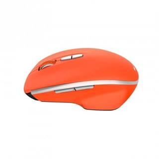 Bezdrôtová myš Canyon MW-21R, 1600 dpi, 7 tl, červená