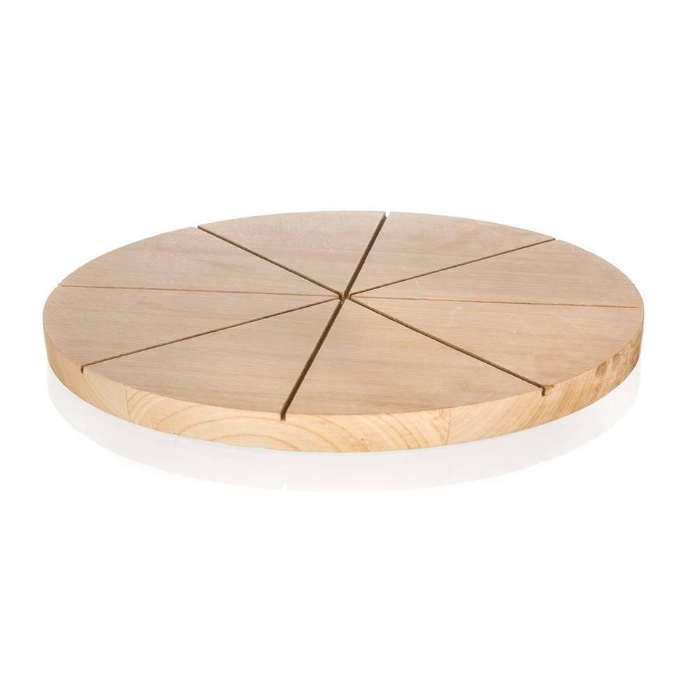 Banquet Banquet Doštička krájacia drevená na pizzu BRILLANTE 32 x 1,5 cm
