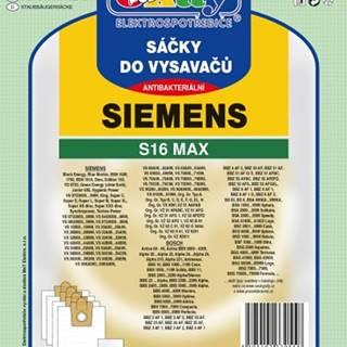 Vrecká do vysávača Siemens S16 MAX, 8ks