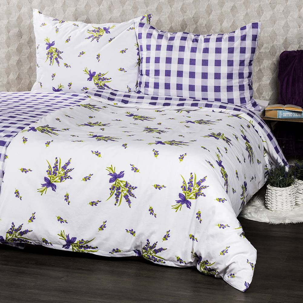 4Home 4Home Bavlnené obliečky Provence, 220 x 200 cm, 2 ks 70 x 90 cm