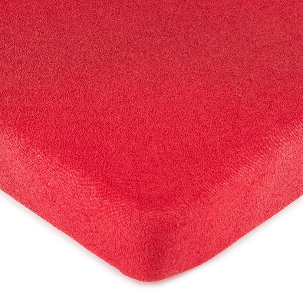 4Home 4Home froté prestieradlo červená, 90 x 200 cm
