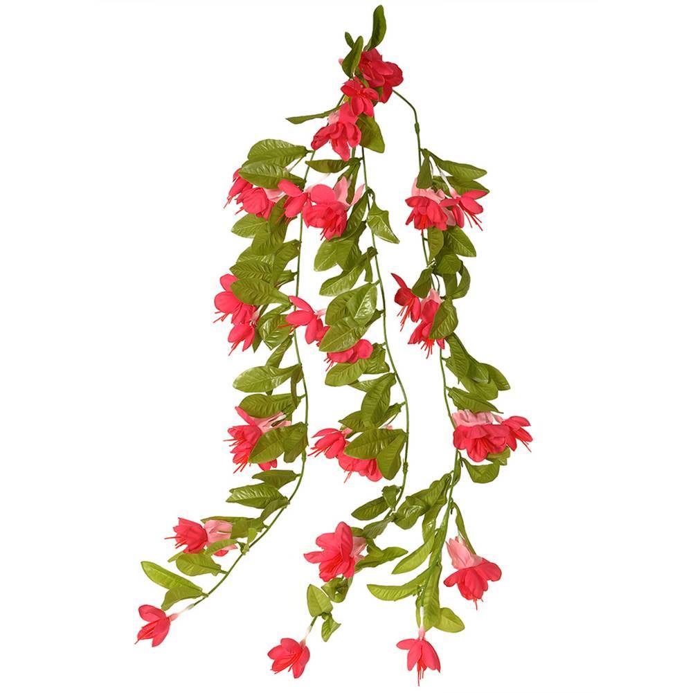 4Home Umelá Fuchsia ružová, 60 cm