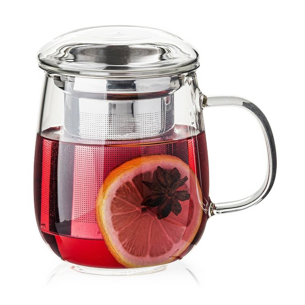 4Home 4Home Hrnček na čaj so sitkom Hot&Cool 330 ml