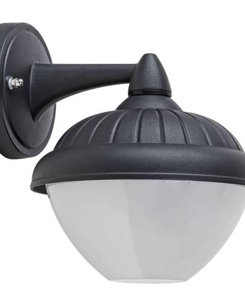Čierne nástenné svietidlo Rabalux